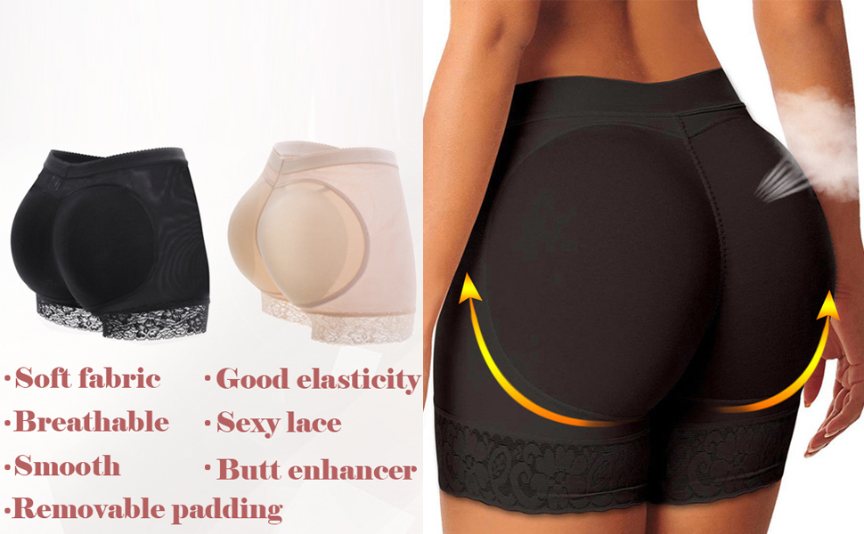 Women Butt Lifter Padded Shapewear Enhancer Control Panties Body Shaper Underwear