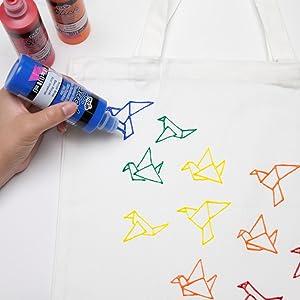Dimensional Paint, 3D paint, Tulip Fabric Paint, Fabric Paint