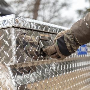 UWS ATV Cargo Box Stainless Steel Handles