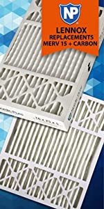 Nordic Pure, Air Filter, Filters, Air Conditioner, Honeywell Replacement