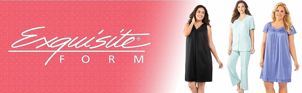 Exquisite Form Women's Coloratura Sleepwear Short Sleeve Pajama Set 90107