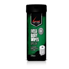 can of field body wipes