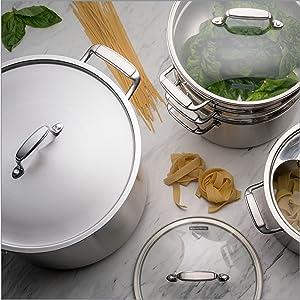 stock pot lids