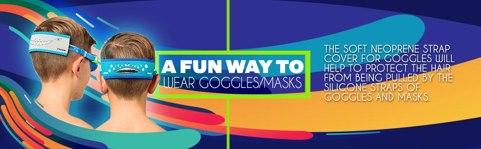 goggle strap cover , mask strap cover , neoprene mask strap cover, neoprene goggle strap cover