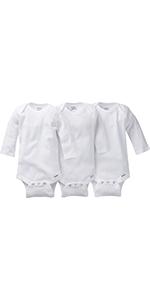 white onesies, onesies, bodysuits, baby clothes, baby basics