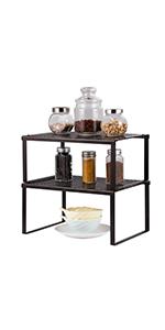 Black Kitchen Cabinet