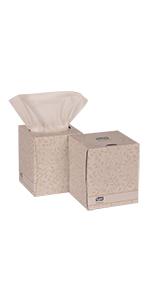 Tork Premium TF6910A Facial Tissue, Cube Box