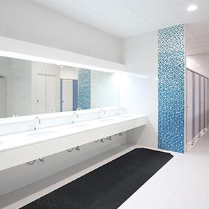 Dry Floors, Sure Stride Matting, adhesive back matting, anti-microbial treatment, odor resistant