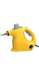 steam cleaner yellow