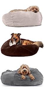 furhaven; product; comparison; pet; bed; ball; bean bag; refillable