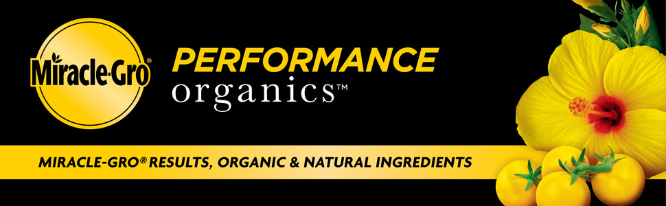 Miracle-Gro Results, Organic & Natural Ingredients