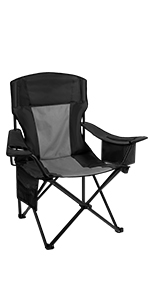 Camping Quad Chair with Cooler