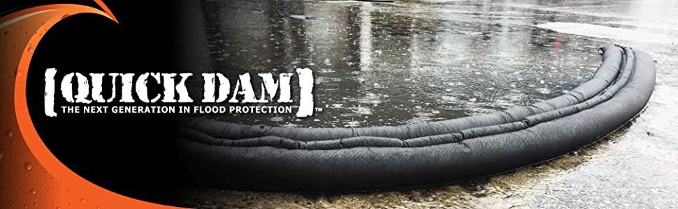 flood barrier, flooding, quick dam, sandbag, sand bag