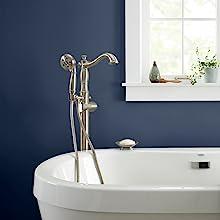 navy bathroom, interior design