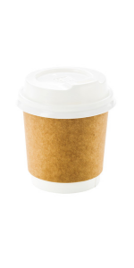 Made from premium paper, these disposable insulated coffee cups offer the best green alternative.