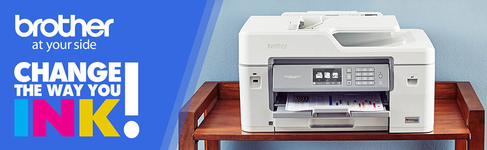printer; all-in-one; inkjet; MFC-J6545DW; duplex; mobile; wifi; cloud; high; yield; ink; tank