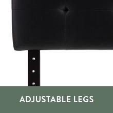 adjustable legs headboard adjustable headboard