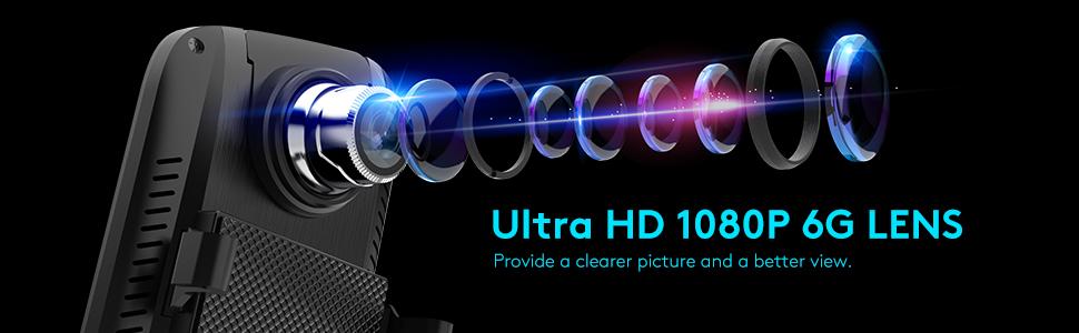 A3 1080p dash cam