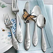 lenox, butterfly, butterfly meadow, china, lenox china, lenox dishes, dishware, butterfly dishes