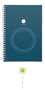 Rocketbook, Rocketbook everlast, resuable notebook, erasable notebook, wirebound notebook, notebooks