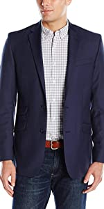 kenneth cole suits, slim, stretch