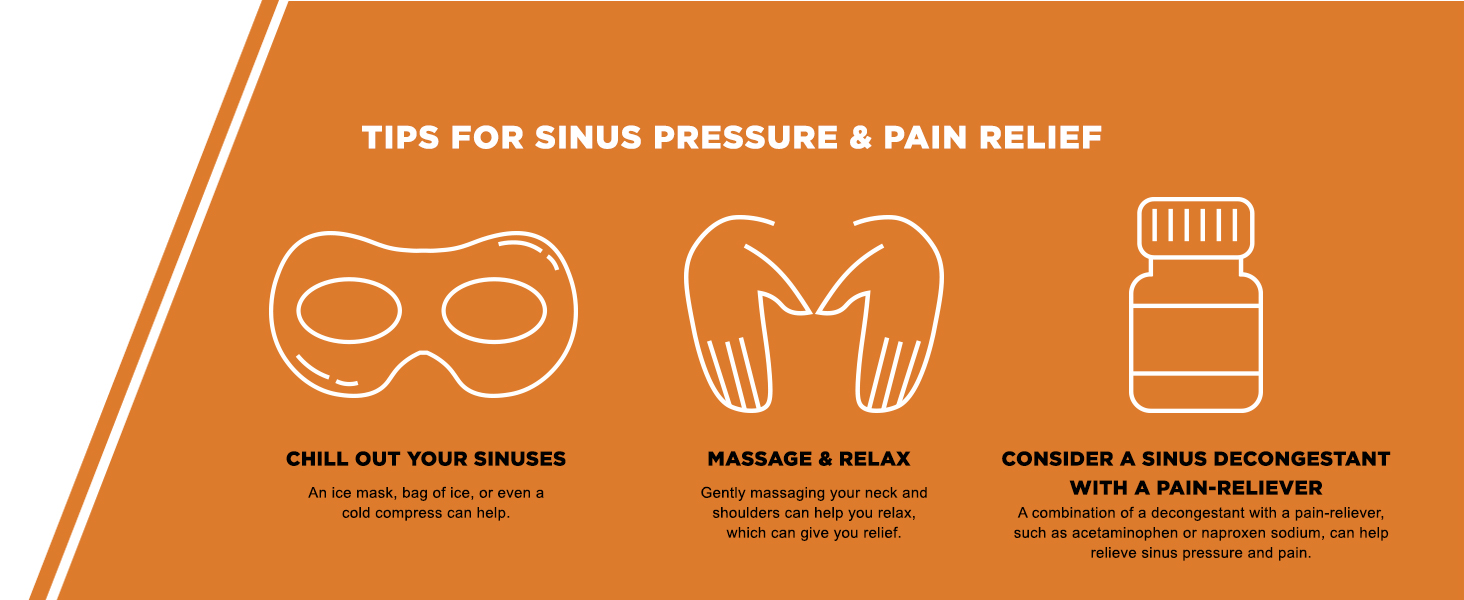 sinus pressure and pain relief