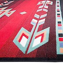 southwest red rug