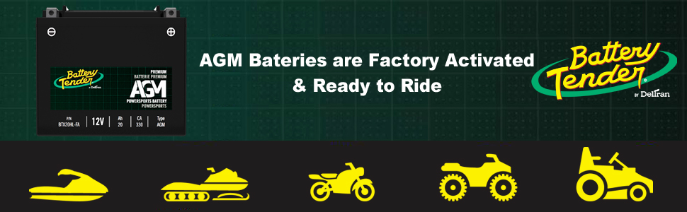 AGM batteries from Battery Tender