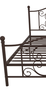 bed;metal bed;upholstered bed;bed frame