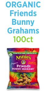 Organic friends bunny grahams