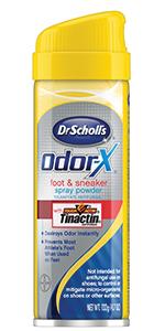 Dr. Scholl's Odor-X Odor Fighting Foot & Sneaker Powder