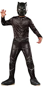 value priced black panther costume