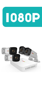 8Ch. 1080p Home Security System