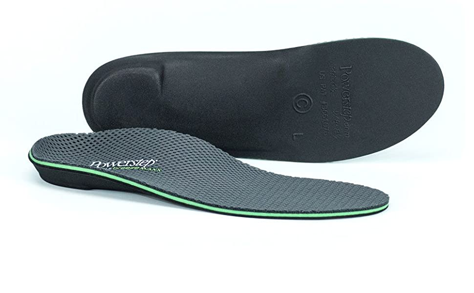 Powerstep Pinnacle Maxx Breeze Orthotic Shoe Insoles