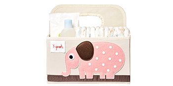 Ideal for diapers, wipes and lotions