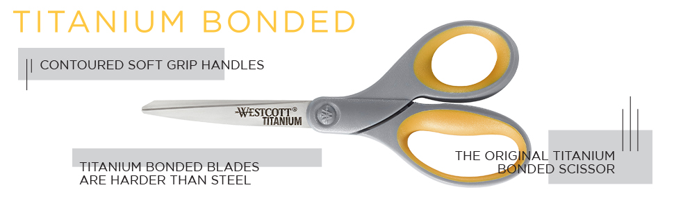 titanium bonded scissor, popular scissor, all purpose scissor