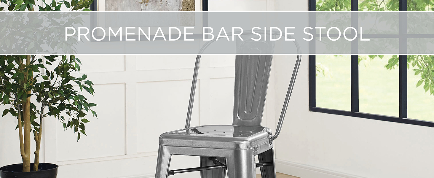 vintage powder coated steel finish,industrial modern piece,classic bistro style