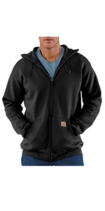 mens sweatshirts, crewneck, pocket, work, workwear