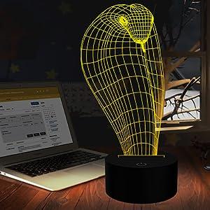 3D Cobra Night Light