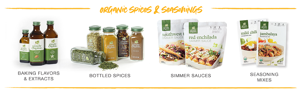 organic spices & seasonings