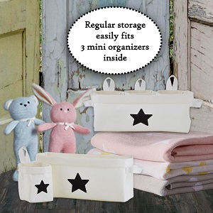 nursery;bathroom;storage;solutions;organizers;ideas;shower gift for;boys;girls;cube;basket