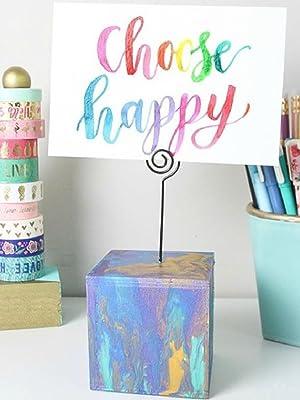 choose happy card in pinwheel card holder