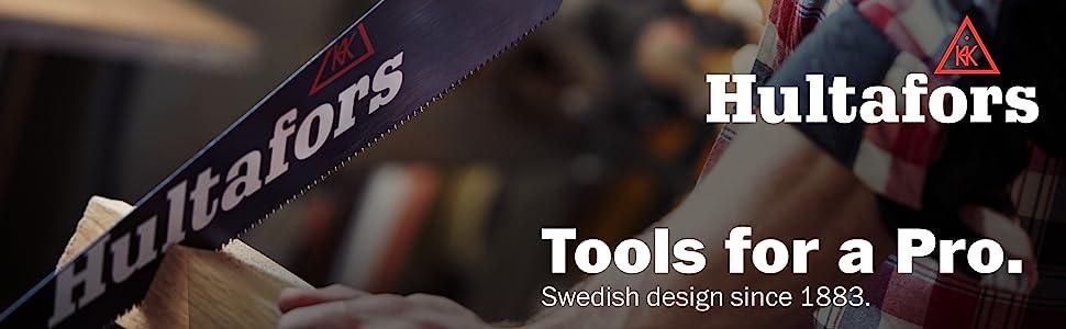 Hultafors Tools saw blade construction