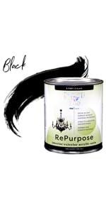 Black Furniture Paint