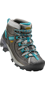 women's waterproof hiking boots mid-height comfortable leather durable stable outdoor mujeres