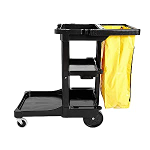 cart cleaning hospitality