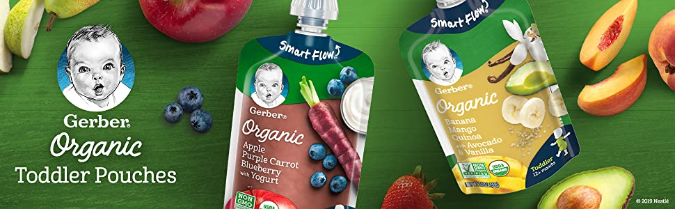 Gerber Organic Toddler Pouches