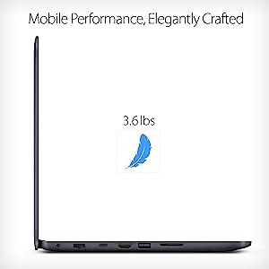 """ASUS L402WA-EH21 14"""" HD Laptop; AMD E2-6110, Radeon R2, 4GB DDR3 RAM, 32GB, Windows 10 S office 365"""