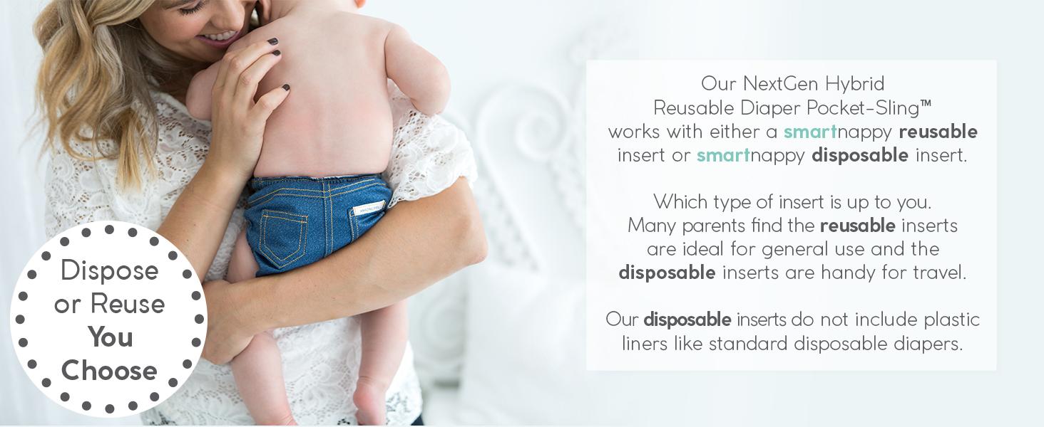 SmartNappy, Smart, Nappy, Reusable, Diaper, Cloth, Environmentally, Friendly, Eco, Hybrid, System
