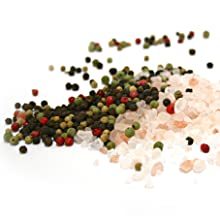 Grind easily salts and peppercorns